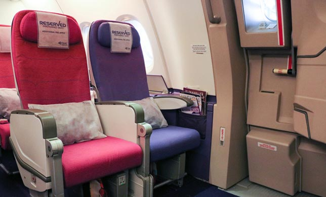 Preferred seat gives you the comfort to travel in a seat of your choice (like Exit Row / Front Row etc.)